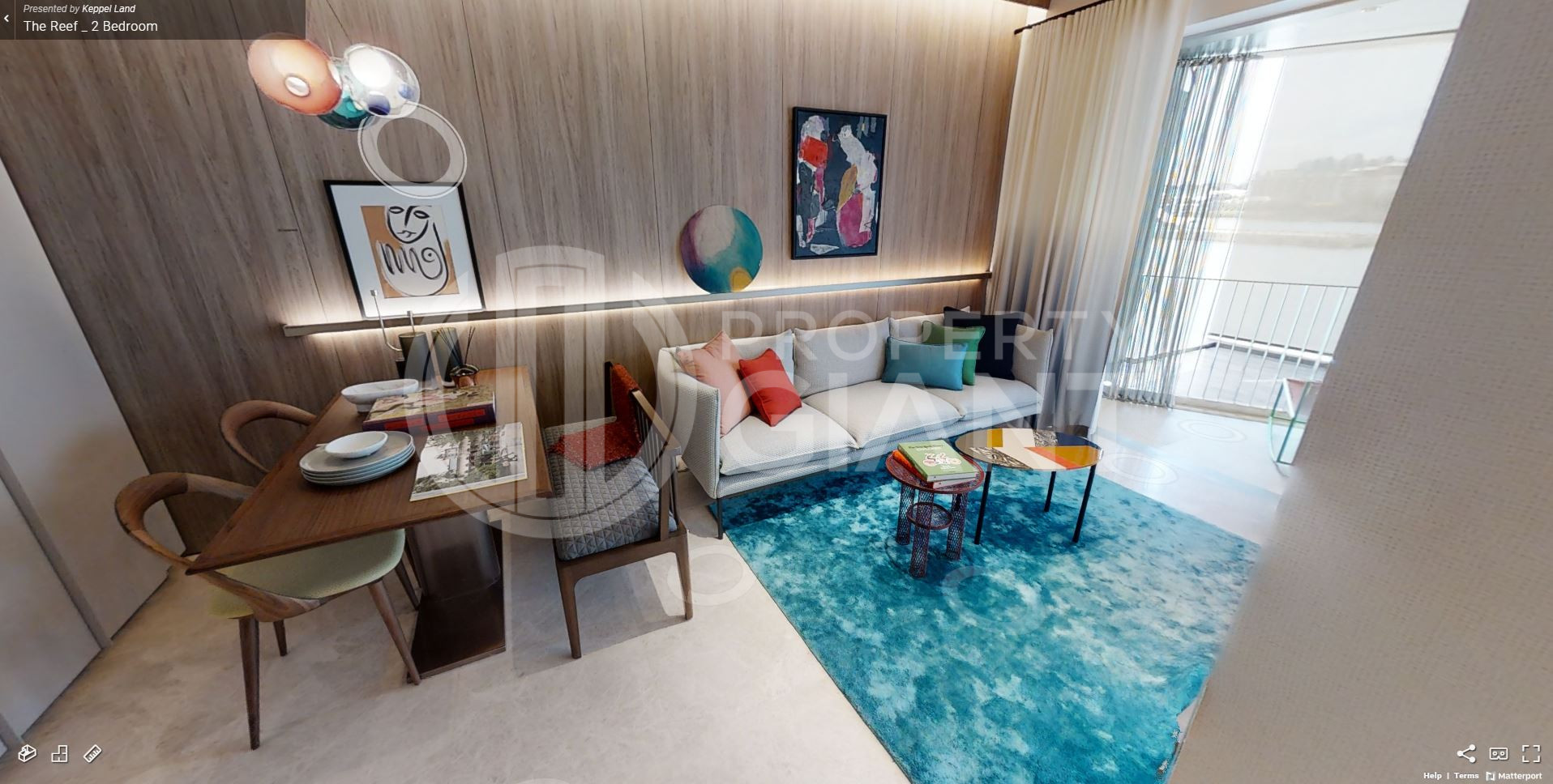 3D Virtual Tour of The Reef at King's Dock 2 Bedroom