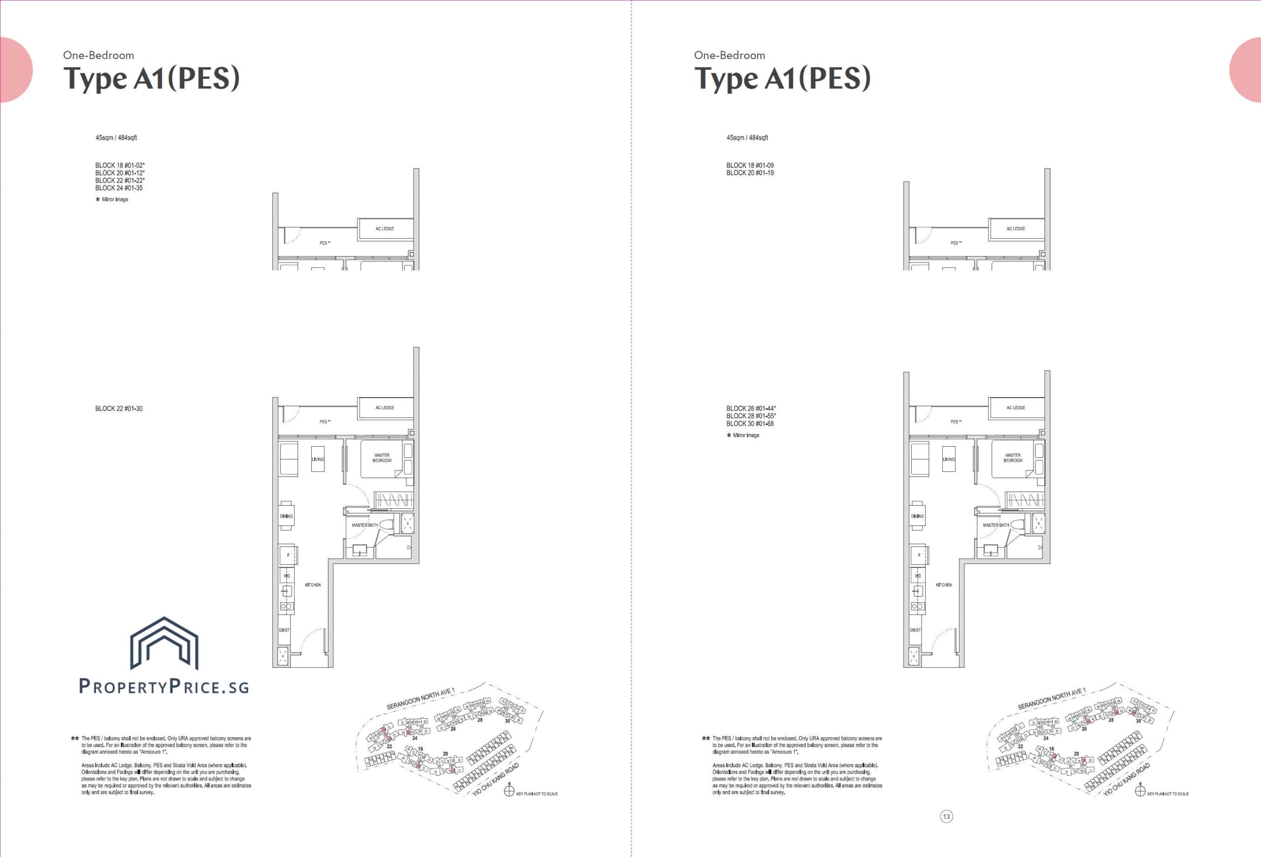 Type A1(PES)