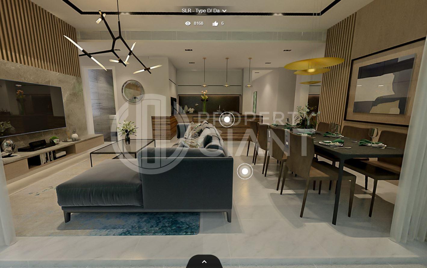 3D Virtual Tour of Sloane Residences 4 Bedroom Unit, Type D/Da